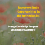 Orange Knowledge Programme Scholarships