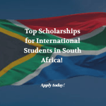 7 Great Scholarships for International Students at South African Universities
