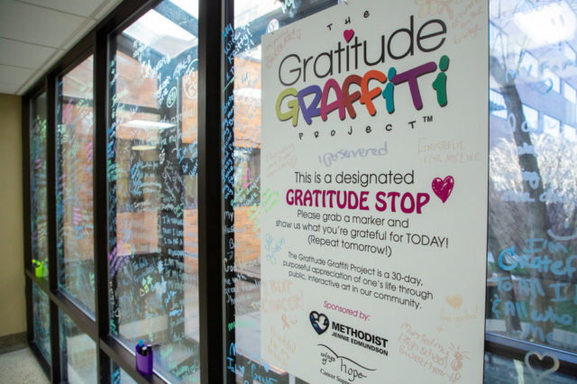 Methodist Jennie Edmundson Hospital: Gratitude Graffiti