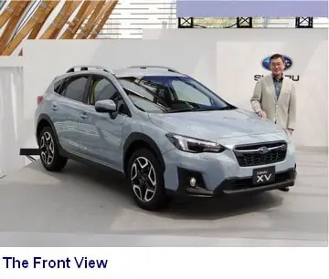 Front View of the Subaru XV