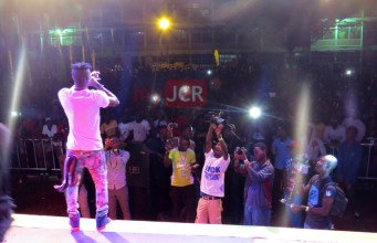 Stonebwoy at Republic Hall FunCity 2014
