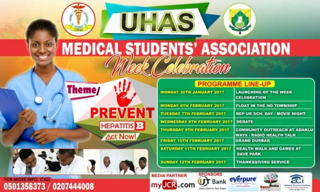 UHAS Medical Students' Association set to combat Hepatitis B