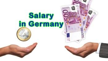 Salary in Germany