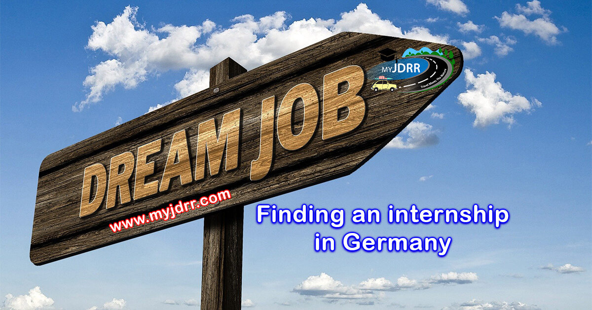 Finding an internship in Germany