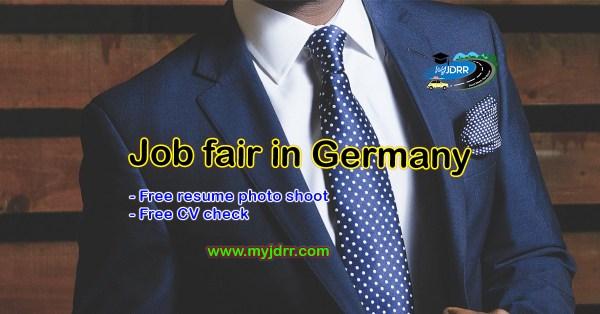 Job fair in Germany