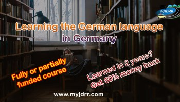 Learning the German language in Germany