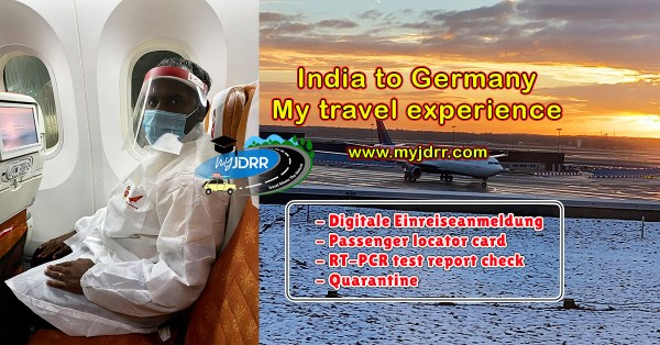 India to Germany - My travel experience