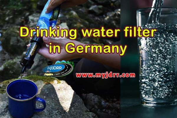 Drinking water filter in Germany