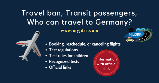 Travel ban from India to Germany - Who is allowed to travel