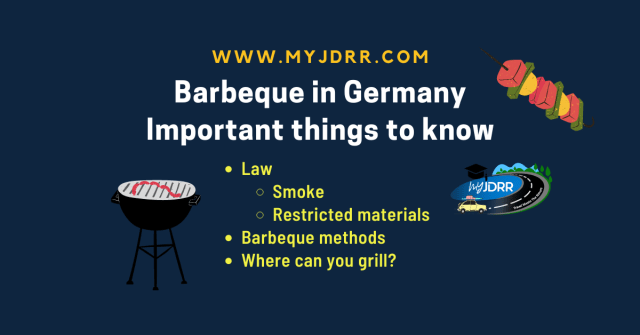 Barbeque in Germany - Important things to know