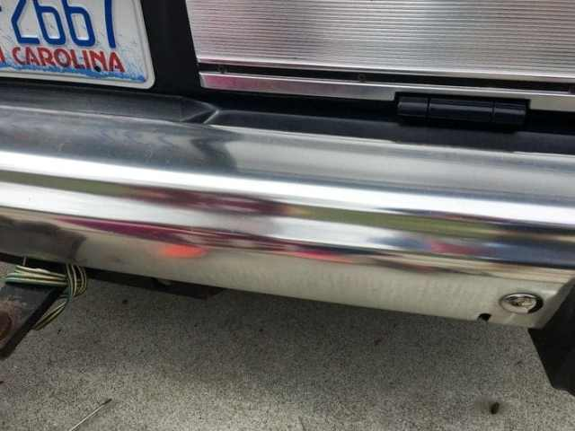 how to polish aluminum bumpers, polish metal bumpers