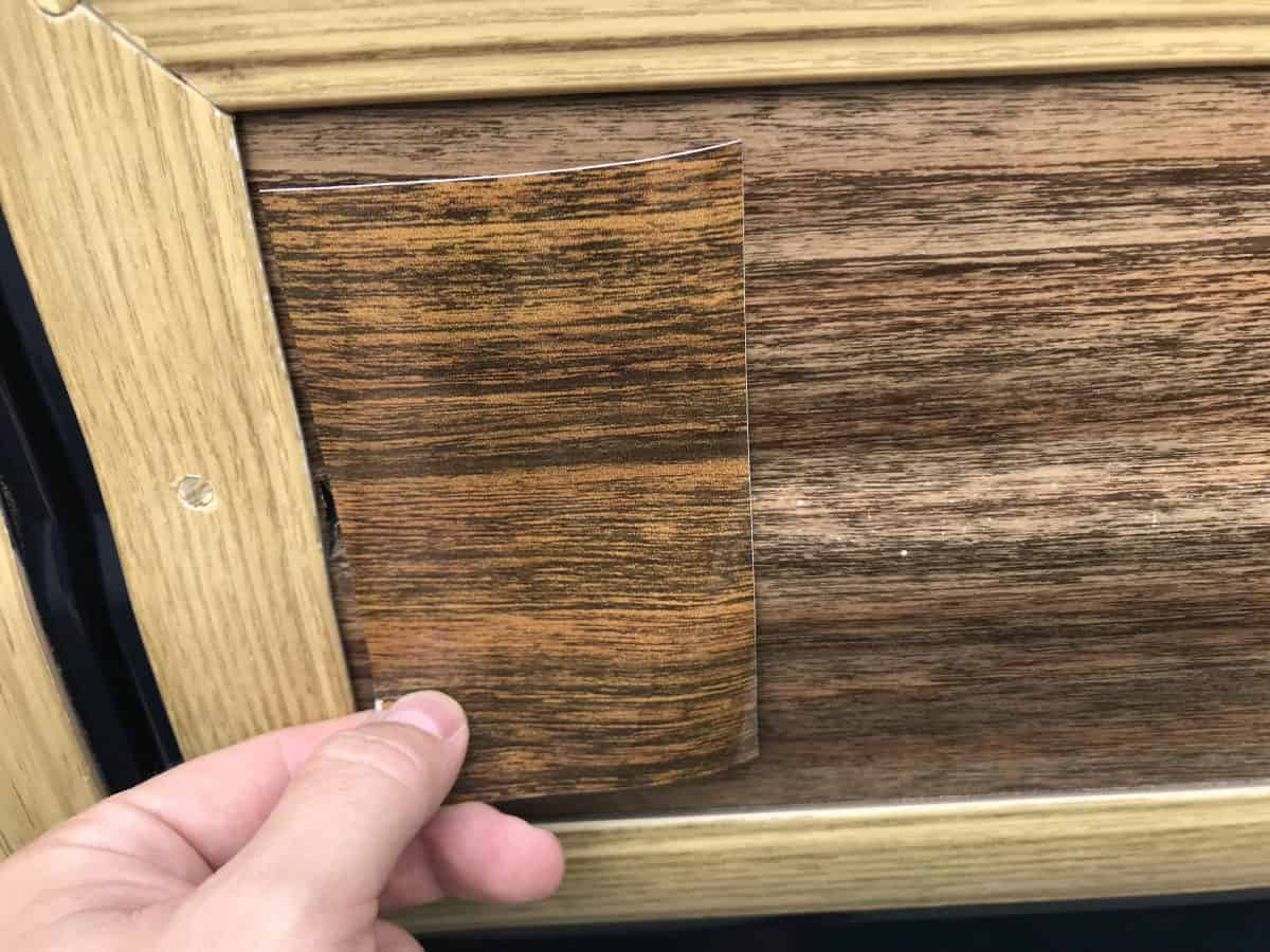 replacement Jeep Grand Wagoneer Vinyl Woodgrain