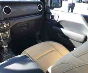 Jeep Wrangler Seats are soft and comfortable
