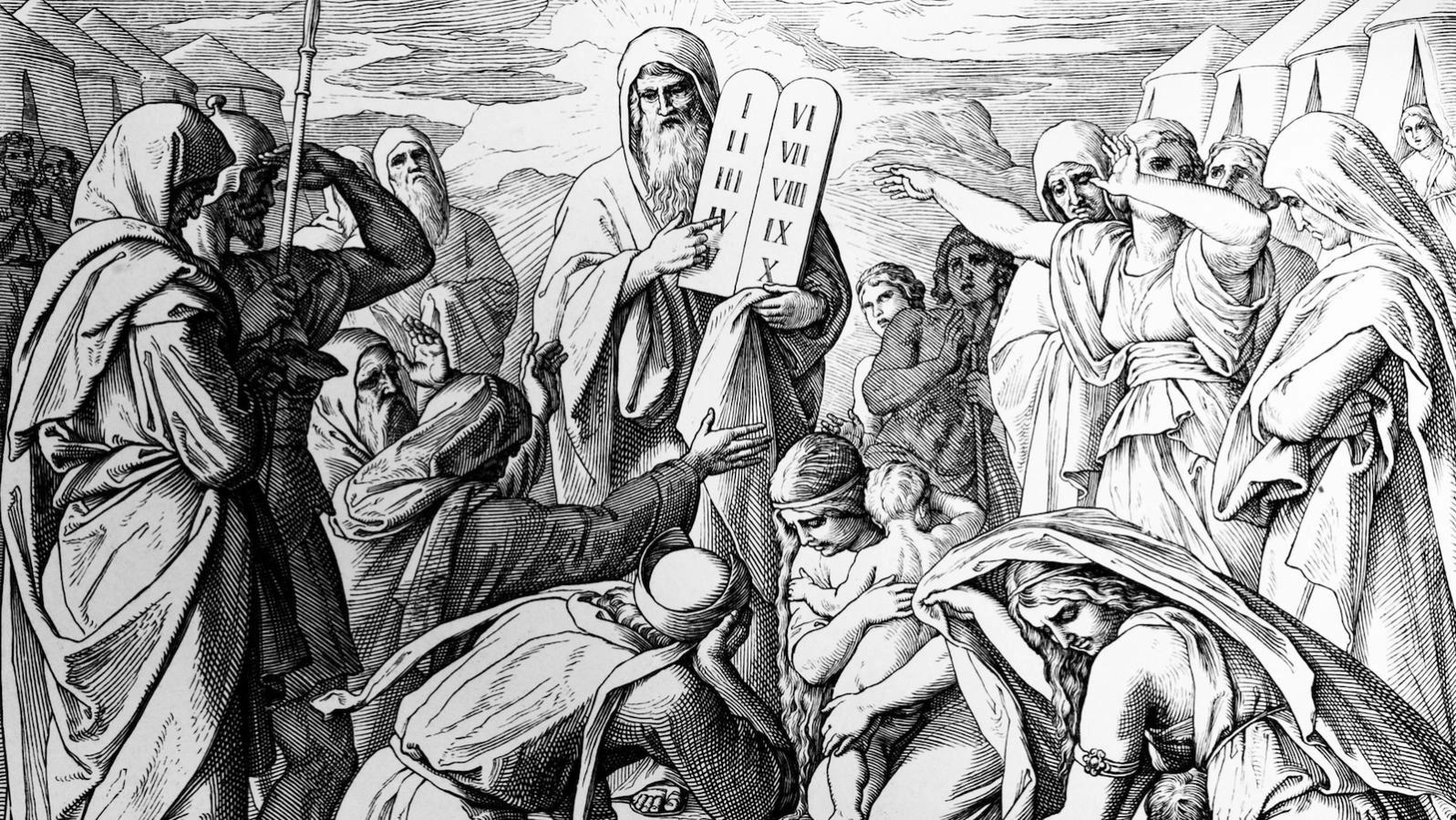 The Ten Commandments A Genderysis