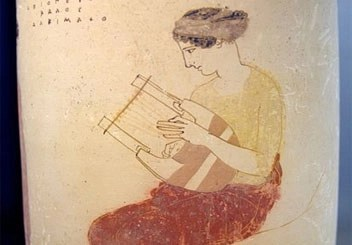 Woman with Lyre