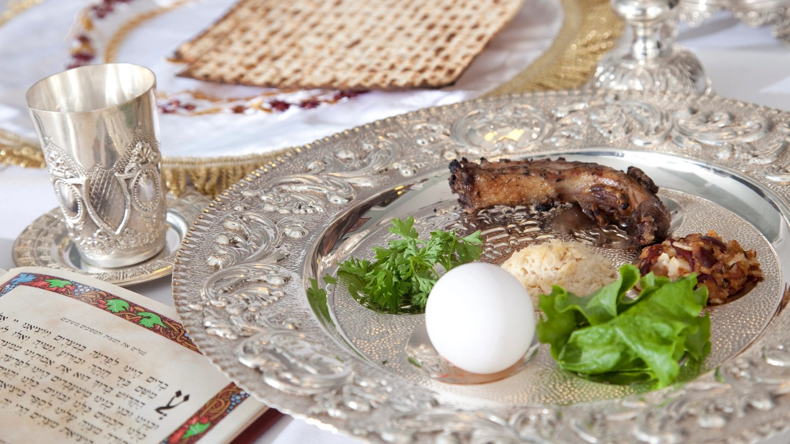 Checklist Setting The Seder Table
