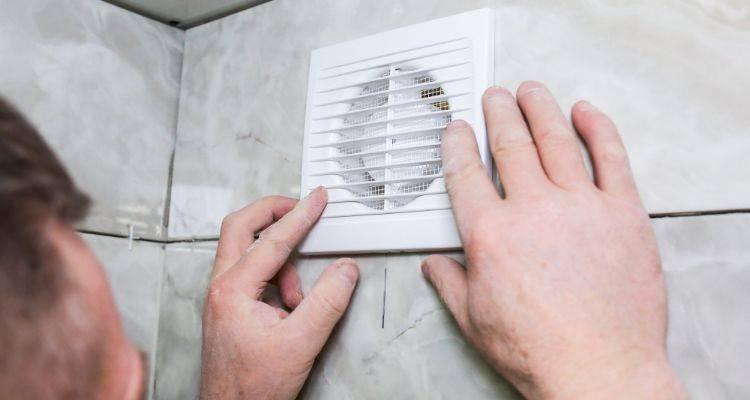 replacing a bathroom extractor fan