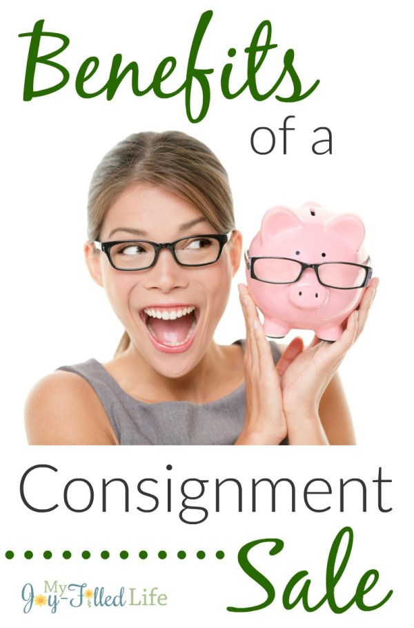 Benefits of a Consignment Sale