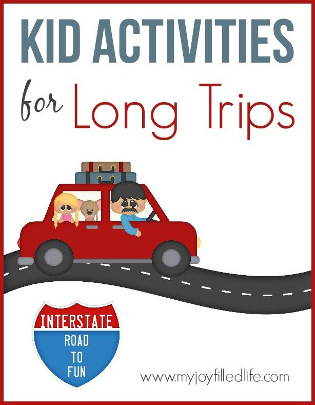 Kid Activities for Long Trips