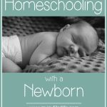 How to Homeschool During the Post Partum Period