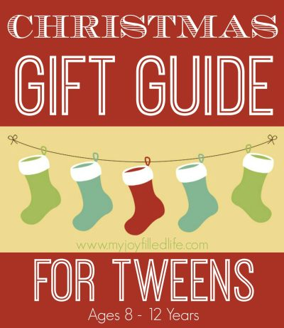 Christmas Gift Guide for Tweens