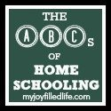 The ABCs of Homeschooling Button