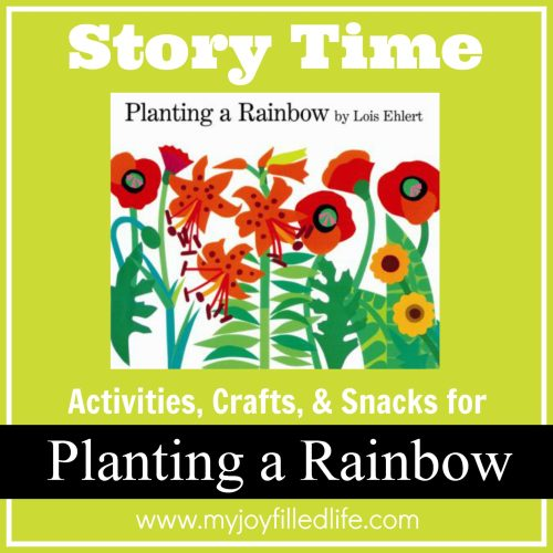 Planting a Rainbow Story Time