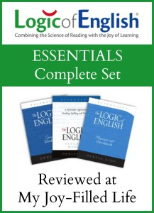 Logic of English – Essentials {a review}