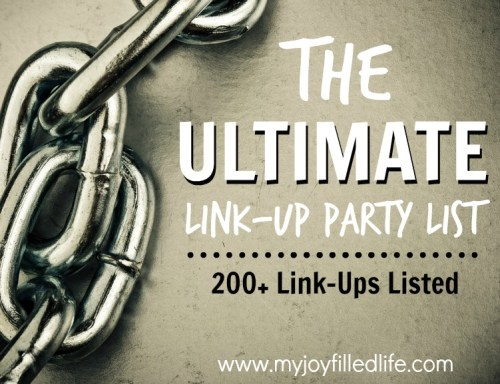 The Ultimate Link-Up Party List