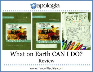 What on Earth Can I Do? from Apologia {a review}