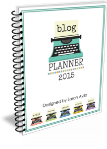 Blog Planner 2015 Cover Trans1
