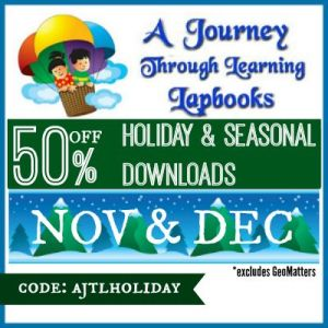 50% off at A Journey Through Learning Lapbooks