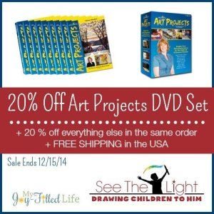 20% Off See the Light Art Projects DVD Set