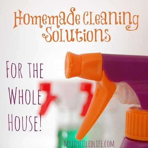 Homemade Cleaning Solutions for the Whole House