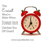 The Easiest Meal to Make When Dinner Hour Catches You Off Guard