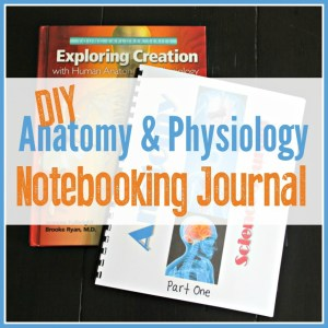DIY Anatomy & Physiology Notebooking Journal