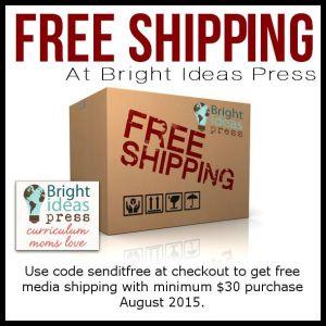 FREE Shipping at Bright Ideas Press