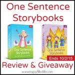 One Sentence Bible Storybooks – A Review