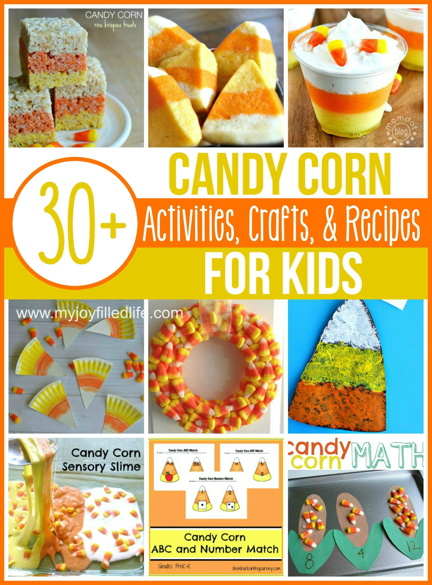 Candy Corn Activities Crafts And Recipes For Kids