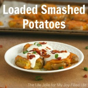 Loaded Smashed Potatoes