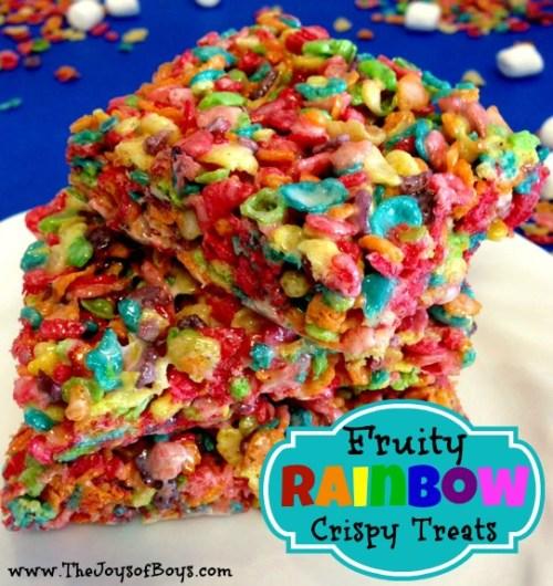 Fruity-Rainbow-Crispy-Treats