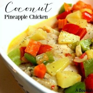 Coconut Pineapple Chicken