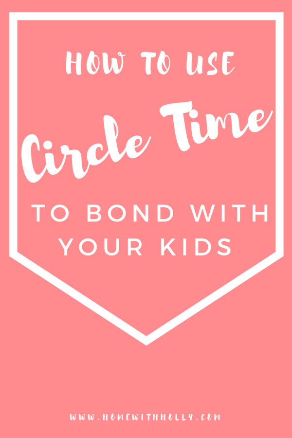 How I Use Circle Time To Boost My Child's Confidence
