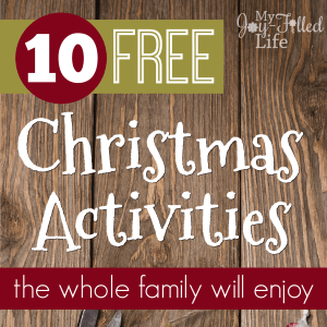 10 Free Christmas Activities the Whole Family Will Enjoy