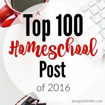 A Top 100 Homeschool Post of 2016