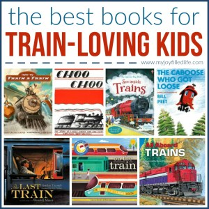 The Best Books for Train-Loving Kids