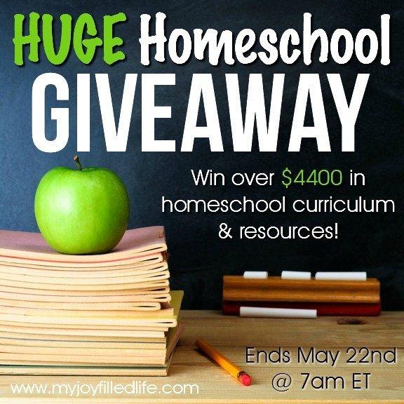 HUGE Homeschool Giveaway