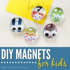 Cute DIY Magnets Kids Can Make
