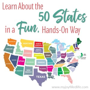 Learn About the 50 States in a Fun, Hands-on Way
