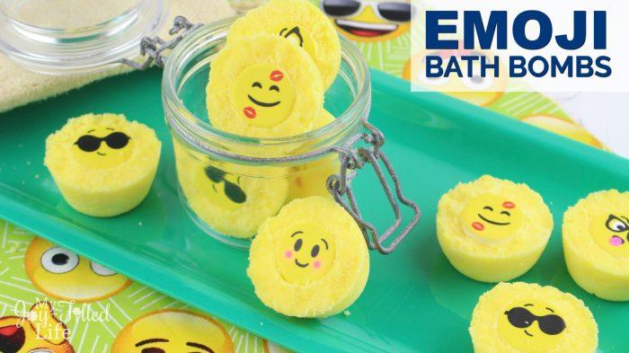Emoji Bath Bombs Horizontal